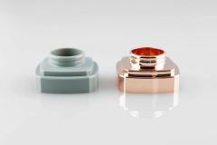 Kunststoff-Verchromen-Galvanische-Behandlung-Parfümverschlüsse