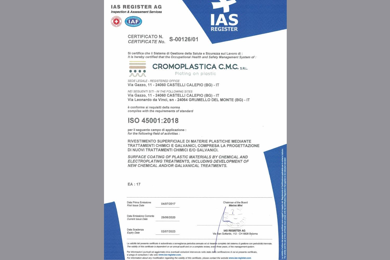 CROMOPLASTICA-CMC-SRL-REV-ISO-450012018-Sicurezza