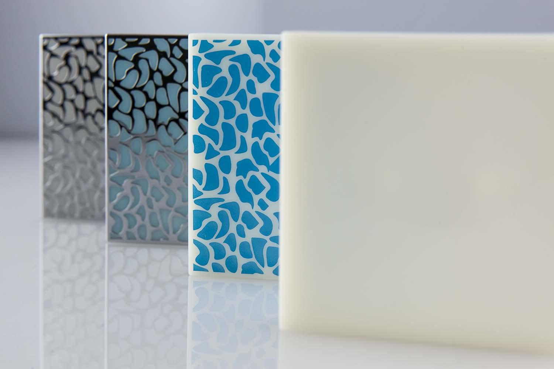 Kunststoff-Verchromen-Selektive-galvanische-Behandlung-Quadratisches-Objekt