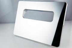 Kunststoff-Verchromen-Wasserarmaturen-WC-Betätigungsplatte